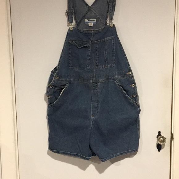 Old Navy Denim - Old Navy denim overall shorts SZ XL